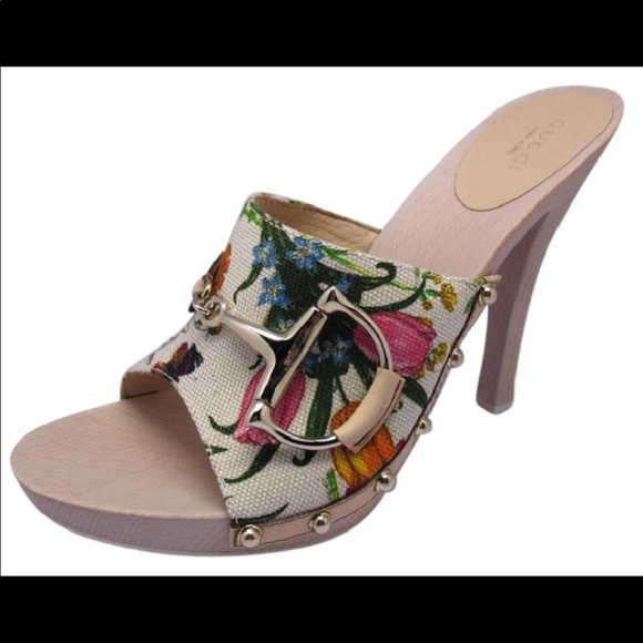 5ee8875c46f Gucci Shoes - Gucci flora mules